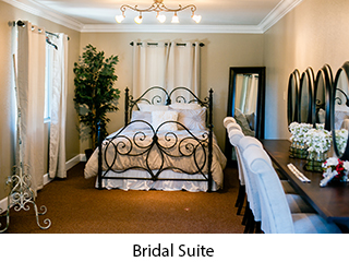 Bridal Suite with 5 make-up stations